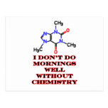 Caffeine Morning Red The MUSEUM Zazzle Gifts Postcard