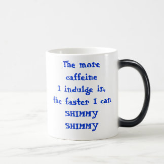 Caffeine 11 Oz Magic Heat Color-Changing Coffee Mug