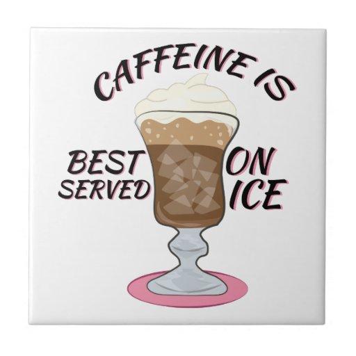 Caffeine On Ice Tile