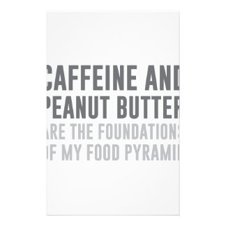 Caffeine & Peanut Butter Stationery
