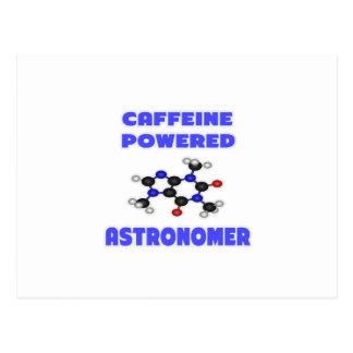 Caffeine Powered Astronomer Postcard