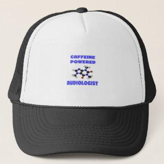 Caffeine Powered Audiologist Trucker Hat