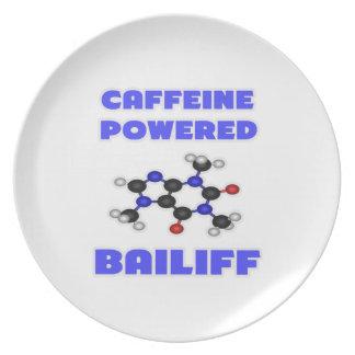 Caffeine Powered Bailiff Party Plates
