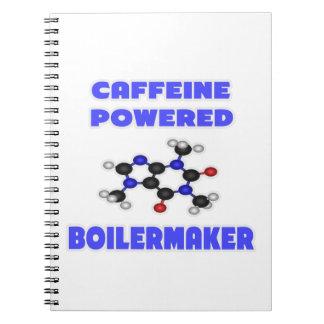 Caffeine Powered Boilermaker Notebook