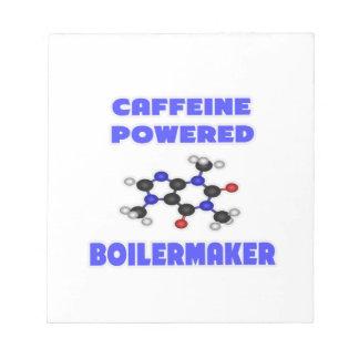 Caffeine Powered Boilermaker Memo Note Pad