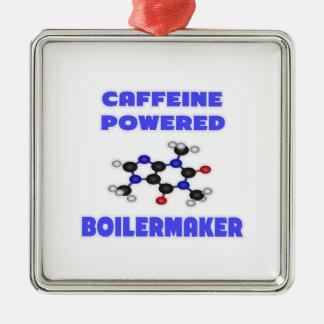Caffeine Powered Boilermaker Christmas Tree Ornaments