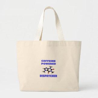 Caffeine Powered Dispatcher Canvas Bags