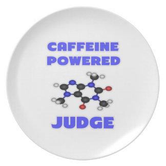Caffeine Powered Judge Party Plates