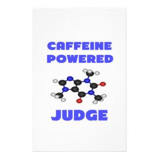 Caffeine Powered Judge Stationery