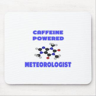 Caffeine Powered Meteorologist Mouse Pad