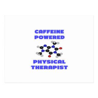 Caffeine Powered Physical Therapist Postcard