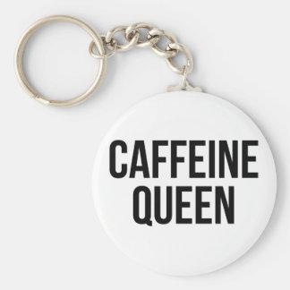 Caffeine Queen Keychain
