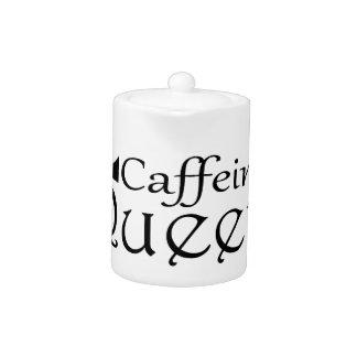 Caffeine Queen Teapot