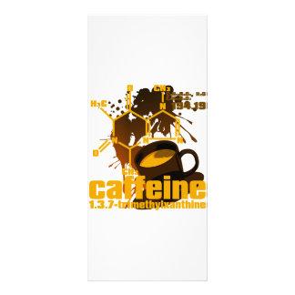 Caffeine Full Color Rack Card