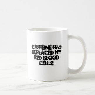 Caffeine Runs through my veins Coffee Mug