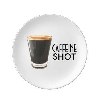 Caffeine Shot Decorative Plate