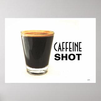 Caffeine Shot Poster Art