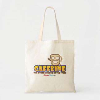 Caffeine, The Other Member of the Staff Tote Bag