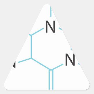 Caffeine Triangle Sticker