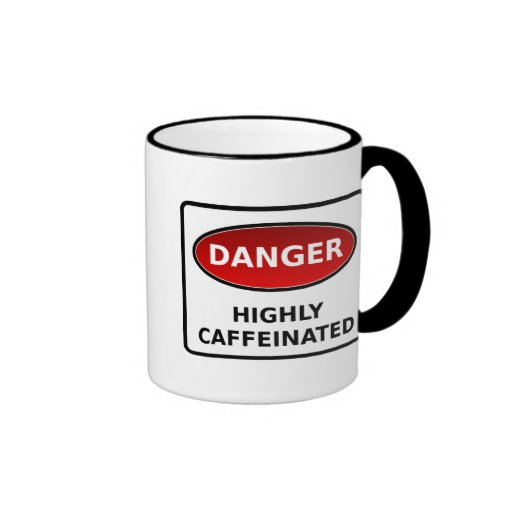 Caffeine Warning Mug