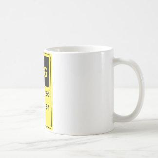 Caffeine Warning Police Officer Coffee Mugs
