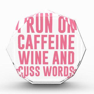 Caffeine Wine & Cuss Words Award