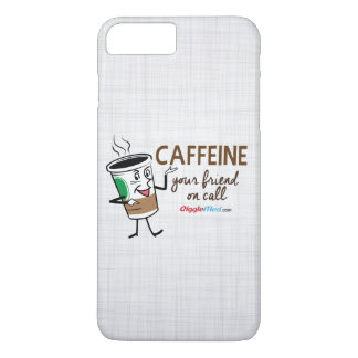 Caffeine, Your Friend on Call iPhone 8 Plus/7 Plus Case