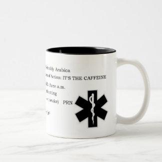 CaffeineRX Two-Tone Coffee Mug