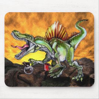 Caffeinosaurus Mouse Pad