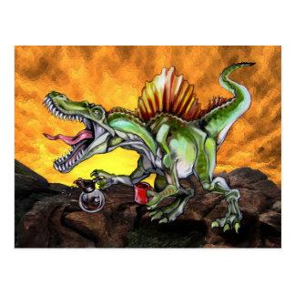 Caffeinosaurus Postcard