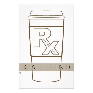 Caffiend Stationery