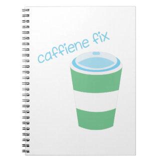 Caffiene Fix Notebooks