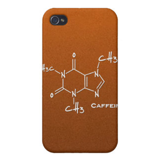 Caffiene molecule (chemical structure) iPhone 4 cases