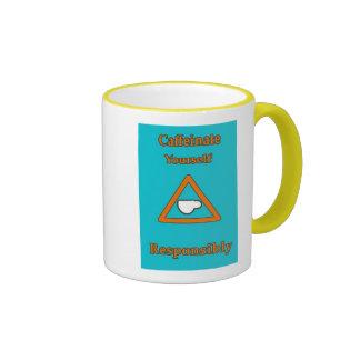 caffinate responsibly mug