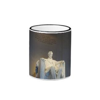 Caffinated Abe Ringer Coffee Mug