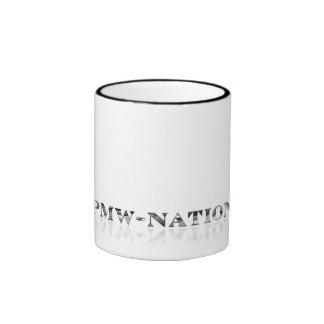 caffiNATION Ringer Coffee Mug