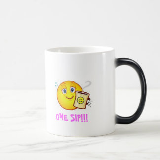 Caffine Happiness 11 Oz Magic Heat Color-Changing Coffee Mug