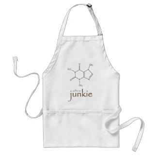 caffine junkie PNG Adult Apron