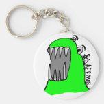 Caffine Monster Keychain