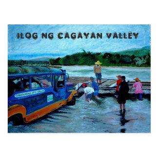 Cagayan Valley River, Philippines Postcard