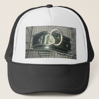 CAGE AND COLLAR TRUCKER HAT