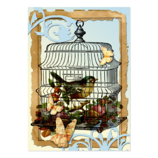 Cage Bird Large Business Cards (Pack Of 100)