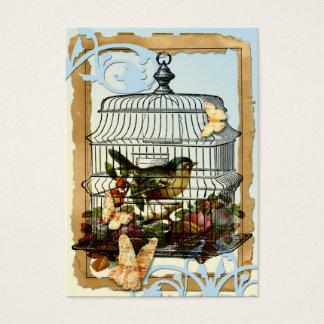 Cage Bird Business Card