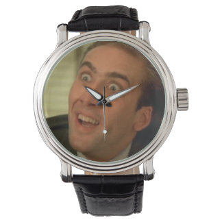 Cage-clock Watch