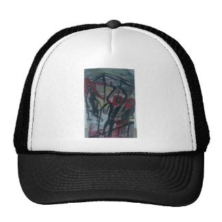 caged band trucker hat