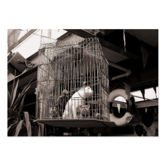 Caged Beasts, Mini Photo Large Business Card