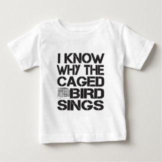 Caged Bird Baby T-Shirt
