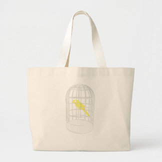 Caged Bird Large Tote Bag