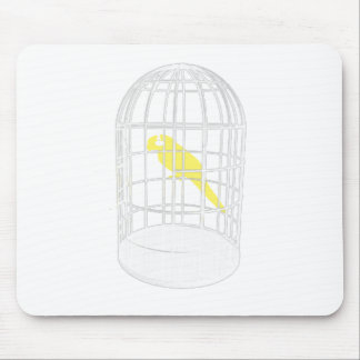 Caged Bird Mouse Pad