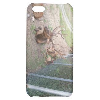 caged deer elk reindeer iPhone 5C cover